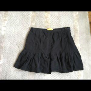 Catherine Malandrino silk mini skirt